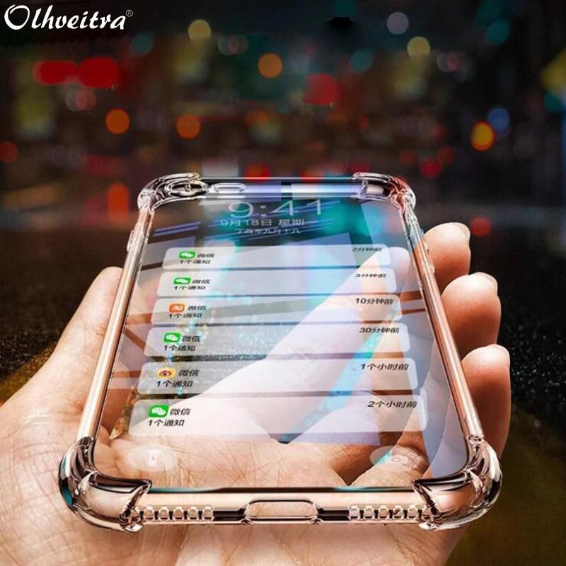 Olhveitra, funda de silicona clara y suave para Meizu M8 M9 Note 16XS 16S 16 Plus X8 V8 Pro, funda de TPU para Google Pixel 4 3A 3 2 XL