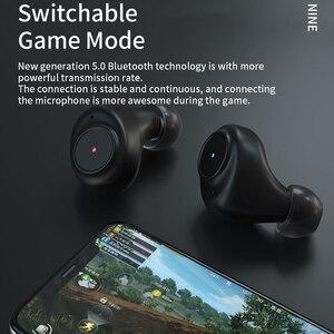 Image 2 - JIMARTI L7 Bluetooth אוזניות סטריאו אלחוטי רעש HIFI צליל ספורט אוזניות דיבורית משחקי אוזניות עם מיקרופון עבור טלפון