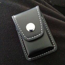 1/2 Pc wiatroszczelne Zip papierosy lżejsze prezent uchwyt skrzynki torba małe pudełko Case dla Zippo Super mecz wysokiej skóry pokrywa mężczyźni zapalniczki