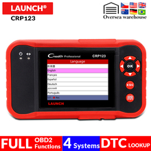 LAUNCH CRP123 ABS/SRS/Transmission/Engine 4 Systems scanner CRP 123 OBD2 Code Reader OBDII auto scan Diagnostic-Tool