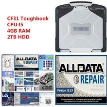 2020 venda quente reparação de automóveis todo o software de dados alldata 10.53 mit .. ch-ell vívido instalado bem em cf31 i5 4g toughbook portátil