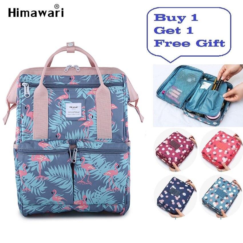 Himawari Mode Rucksack Frauen Laptop Reise Rucksack Weiblichen Wasserdicht Casual Schulranzen Für Mädchen Anti Theft Taschen Mochila-in Rucksäcke aus Gepäck & Taschen bei  Gruppe 1