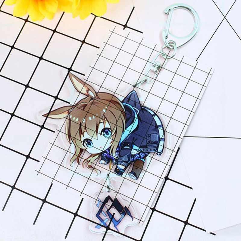 Anime Đi Lạc Chó Móc Khóa Hoạt Hình Acrylic 2 Mặt Trong Suốt Dễ Thương Móc Chìa Khóa Cosplay Mặt Dây Chuyền Người Hâm Mộ Trang Sức
