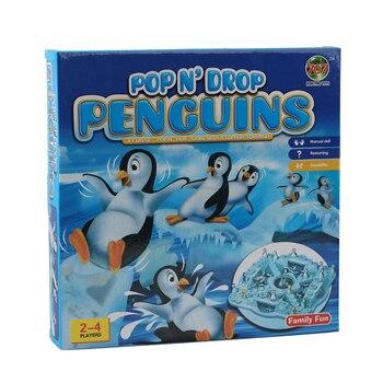 Hielo pingüino ludo clásico de vuelo de ajedrez niños Juego de mesa...