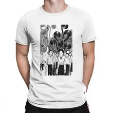 Junji Ito T Shirts for Men 100% Cotton Creative T-Shirt Tomie Japanese Kago Manga Horror Harajuku Tee Short Sleeve Clothes