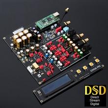 Dubbele ES9038Pro Decoder Dac Lossless Optische Coaxiale Decoder 384 Khz Dsd 512 Ondersteuning Voeg Bluetooth 5.0 Usb Met Oled scherm