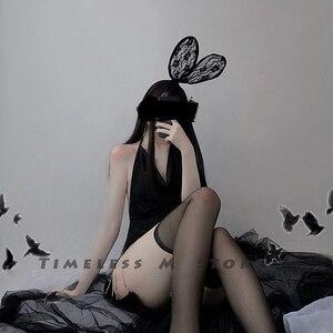 Image 3 - Seksi iç çamaşırı Bodycon elbise egzotik giyim kulübü elbise zarif erotik kostümleri parti giyim bayanlar seksi kostümleri kız için hediye