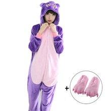 Кигуруми Сейлор Мун Диана фиолетовая Луна кот Косплей комбинезон взрослый Косплей костюмы детские комбинезоны детские пижамы одежда для сна