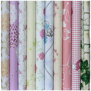 Image 2 - 10m * 45cm bambini carta da parati in PVC coreano autoadesivo impermeabile adesivo da parete per bambini Creeper camera da letto piccoli fiori europei caldi