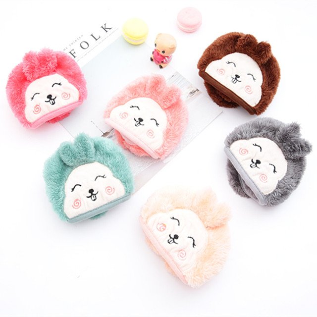 Mother and child Cute rabbit Ear protective kids mouth mask Windproof Mouth-muffle anti dust winter masks Children Anti Haze Flu 3