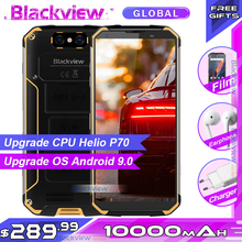 "Blackview BV9500 Plus Helio P70 Octa Core Mobile Phone 10000mAh 5.7"" FHD Screen 4GB+ 64GB Android 9.0 IP68 Waterproof Smartphone"