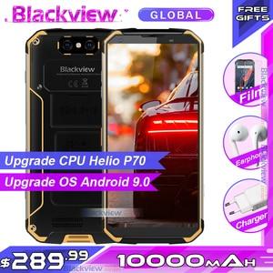 Image 1 - Blackview teléfono inteligente BV9500 Plus, teléfono móvil con procesador Helio P70, Octa Core, batería de 10000mAh, pantalla FHD de 5,7 pulgadas, 4GB RAM, 64GB rom, so Android 9,0, resistente al agua IP68