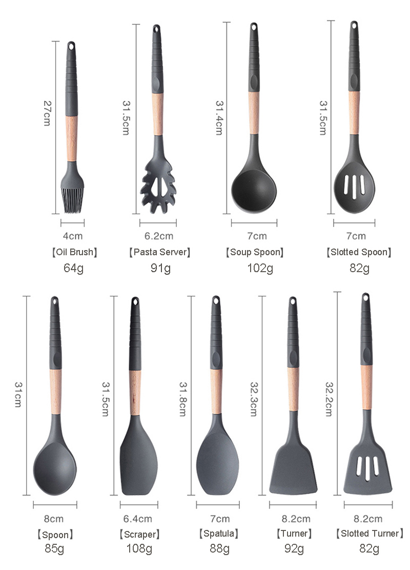 9-10-11-12pcs-Cooking-Tools-Set-Silicone-Wooden-Handle-Kitchen-Cooking-Utensils-Set-with-Storage