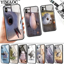 snipe piper Glass Phone Case for Apple iPhone 11 Pro XR X XS Max 6 6S 7 8 Plus 5 5S SE