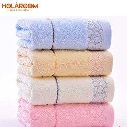 140x70cm ręczniki kąpielowe 100% bawełniany ręcznik 6 kolorów dostępne włókno bawełniane naturalny ekologiczny haftowany ręcznik kąpielowy