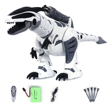C5AA RC Robot Dinosaur Intelligent Interactive Smart Toy Electronic Remote Control Tyrannosaurus Collectible Model