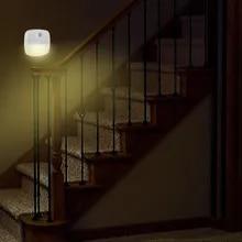 Night-Light Bedside Lamps Toilet-Seat Battery-Operated Smart-Motion-Sensor Hallway Kids Bedroom