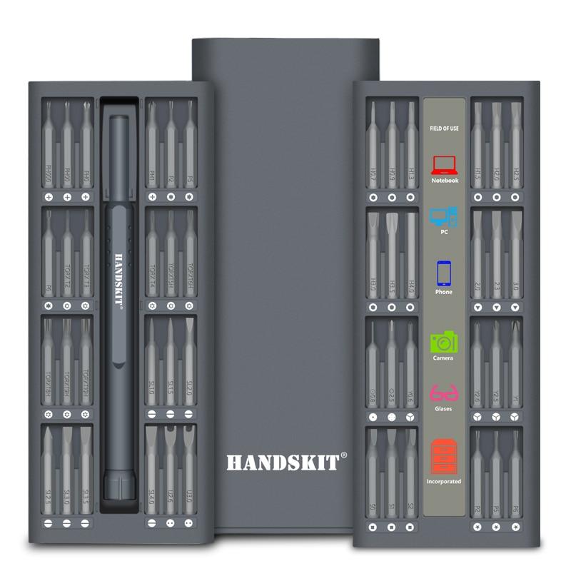Handskit 49 in 1 Precision Screwdriver Set magnet Repair  Electronics Screwdriver Set Electronics Repair Tool Kit-in Screwdriver from Tools