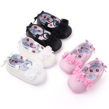 Shoes Toddler Baby-Girl Newborn Infant Flower Pink 1-Year-Old Footwear Doll-Shoes-Accessories
