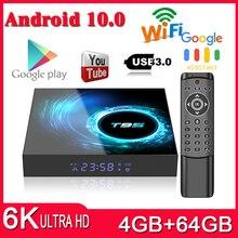 T95 Smart TV BOX Android 10.0 4GB 64GB Allwinner H616 Quad C