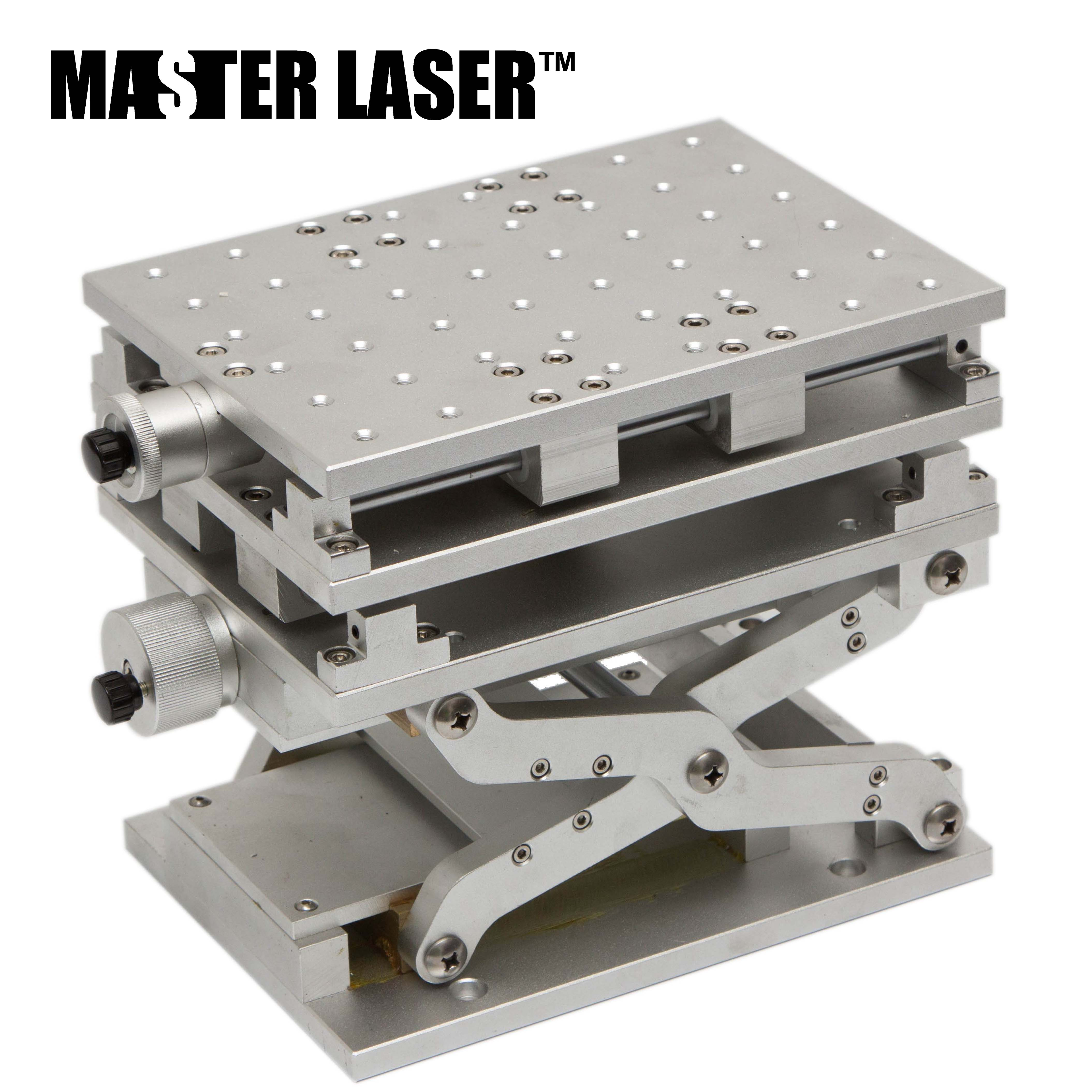 Laser Marking Engraving Machine  3 Axis Moving Table 210*150mm Working Size Portable Cabinet Case XYZ AXIS Table