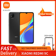 Xiaomi Redmi 9C Global Version 3GB 64GB Xiaomi SmartPhone 13MP Rear Camera MTK Helio G35 6.53