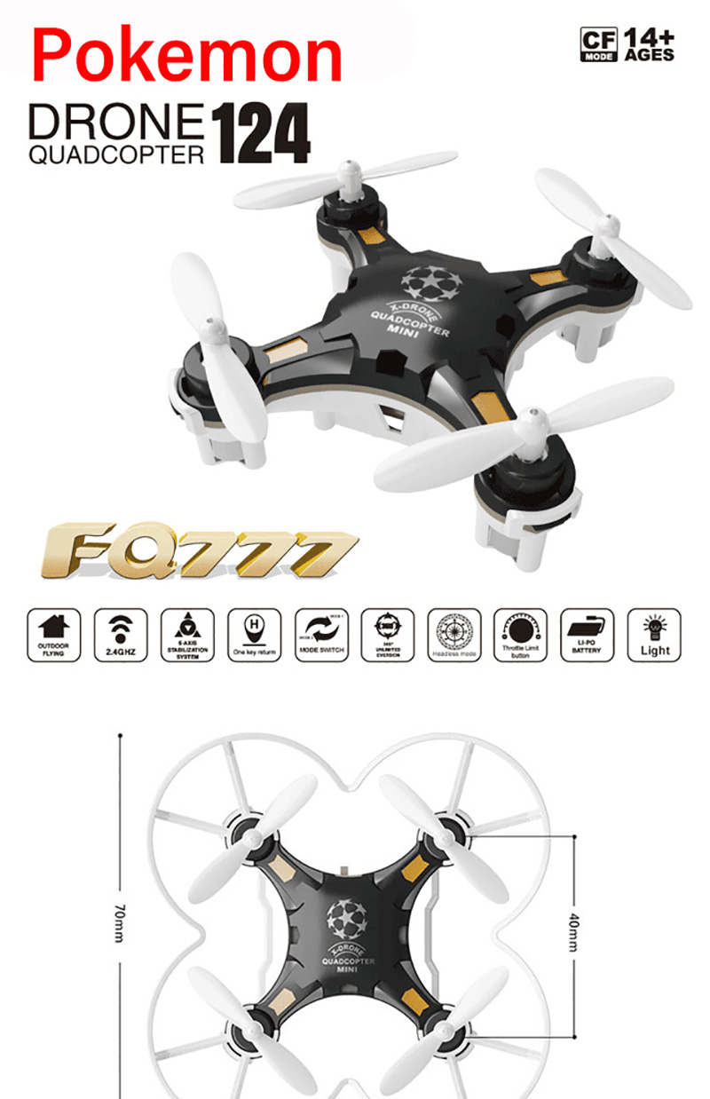 One Quadcopter for RC 3