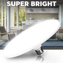 E27 Led הנורה Lampada Led מנורת אור 60W 50W 40W 20W 15W תאורה Bombillas 220V זרקור UFO עבור בית שולחן מנורת סלון