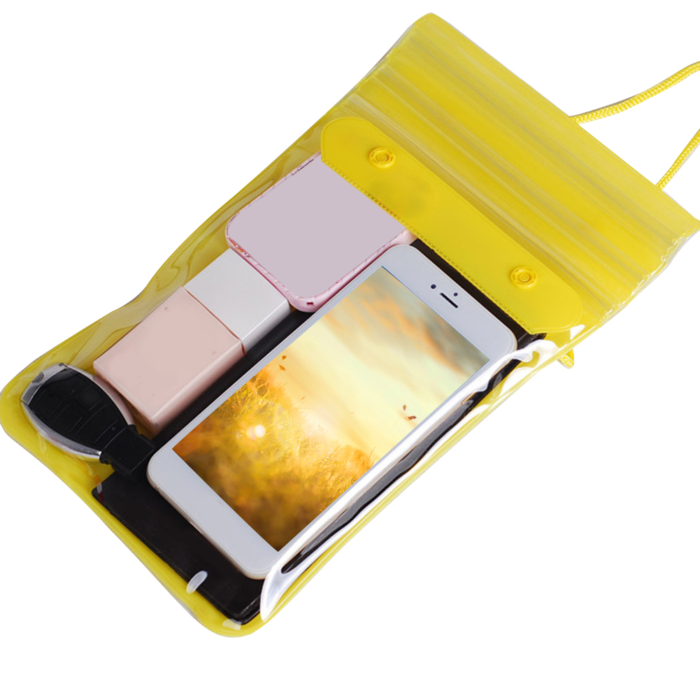Beach Rafting Waterproof Dry Songkran Festival Outdoor Wallets With Straps Keys Swimming Bag Cosmetics Dirtproof Phone Storage