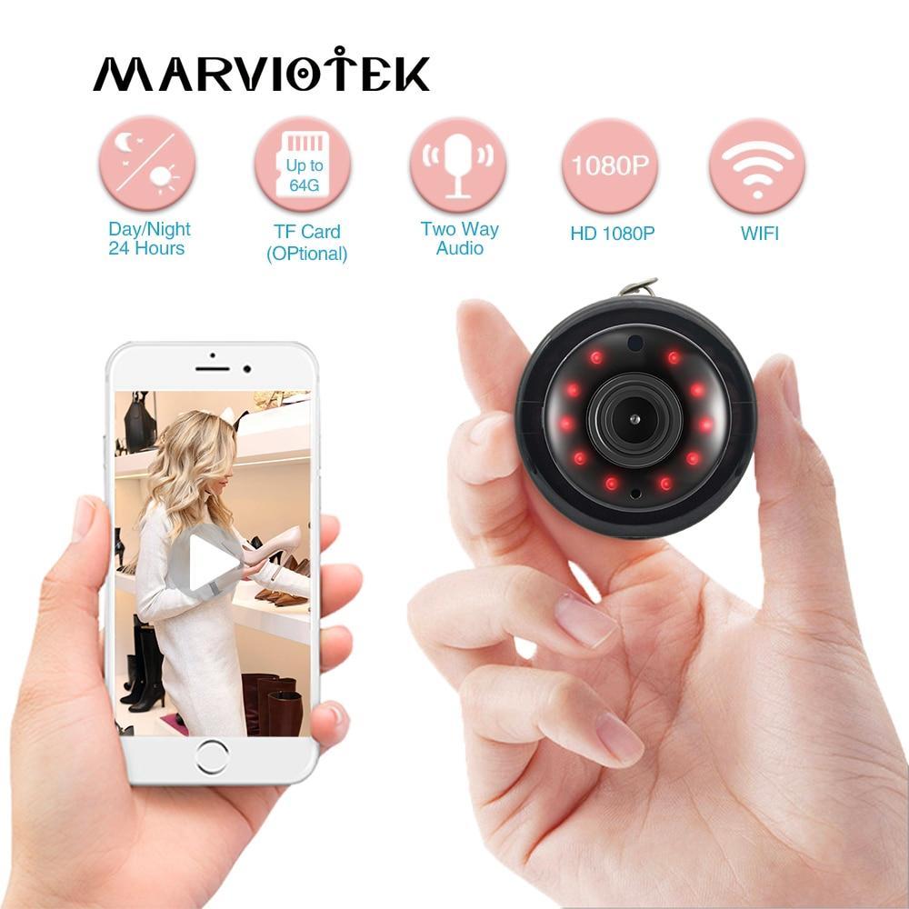 Wireless IP Camera WiFi Home Security Camera Mini CCTV Surveillance Camera 1080P Night Vision Baby Monitor P2P IR Motion Detect
