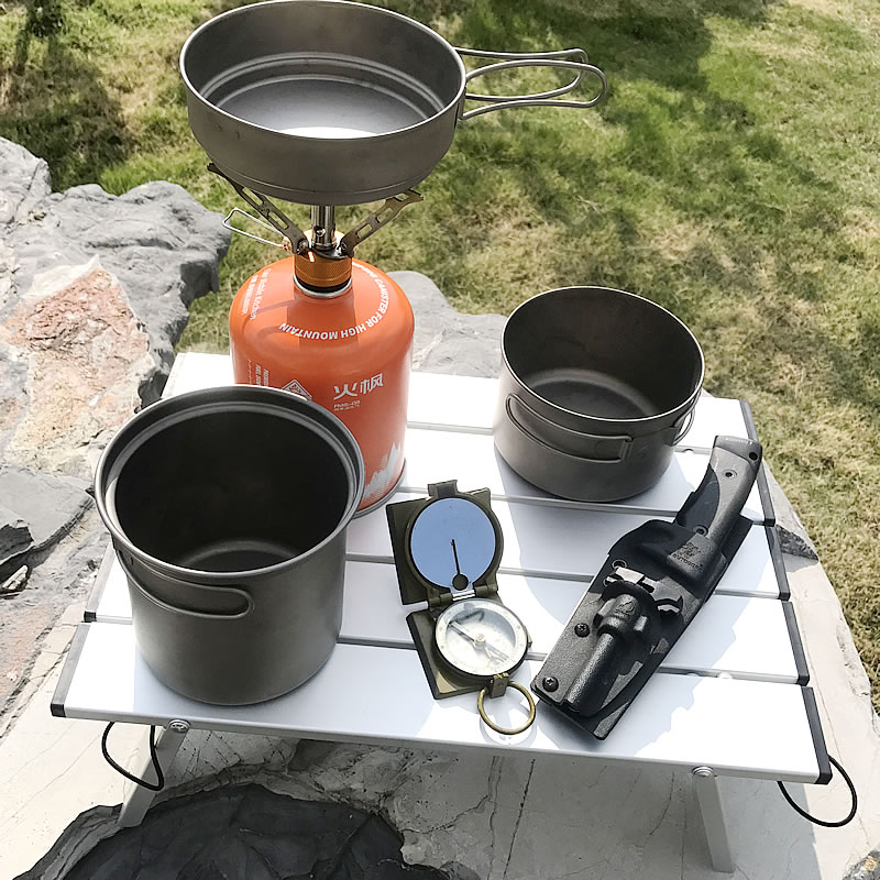 Ultralight Aluminum Alloy Folding Camping Table