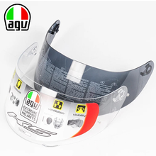 Original AGV Lens Motorcycle Helmet K3SV K5S Visor Full Face Shield Case for AGV K3 SV K5 COMPACT GT2 Mask Shield Black Clear(China)