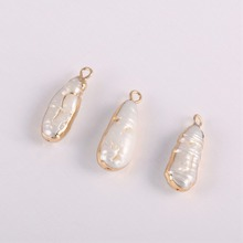 High Quality Natural Freshwater Pearl Pendants Charms for Jewelry Making DIY Accessories Fit Necklaces Wholesale