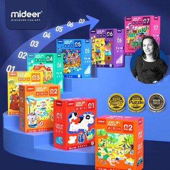 Mideer zaawansowane Puzzle dzieci Puzzle Montessori chłopcy i dziewczęta układanki wczesna edukacja zabawki dla dzieci mózg rozwijaj Puzzle dla dzieci 2-6Y