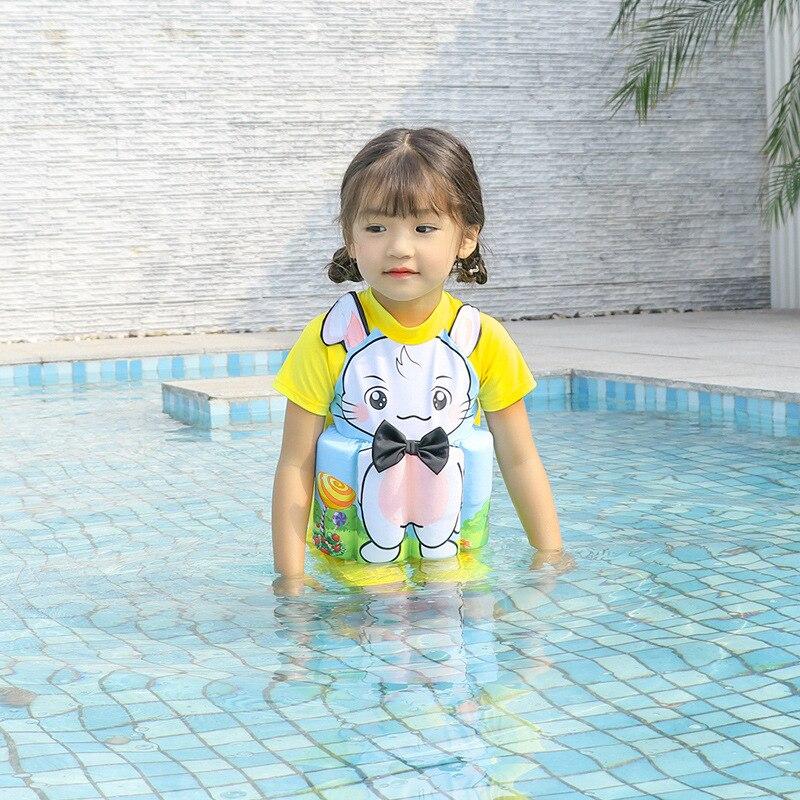 KID'S Swimwear Girls Buoyancy Bathing Suit Small CHILDREN'S Swimwear Baby Siamese Swimsuit CHILDREN'S GIRL'S Kids 1-10-Year-Old