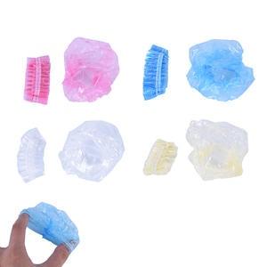 Earmuffs Cover-Caps Ear-Protector Plastic Waterproof 100-Pcs Shower-Tool Hairdressing-Dye-Shield