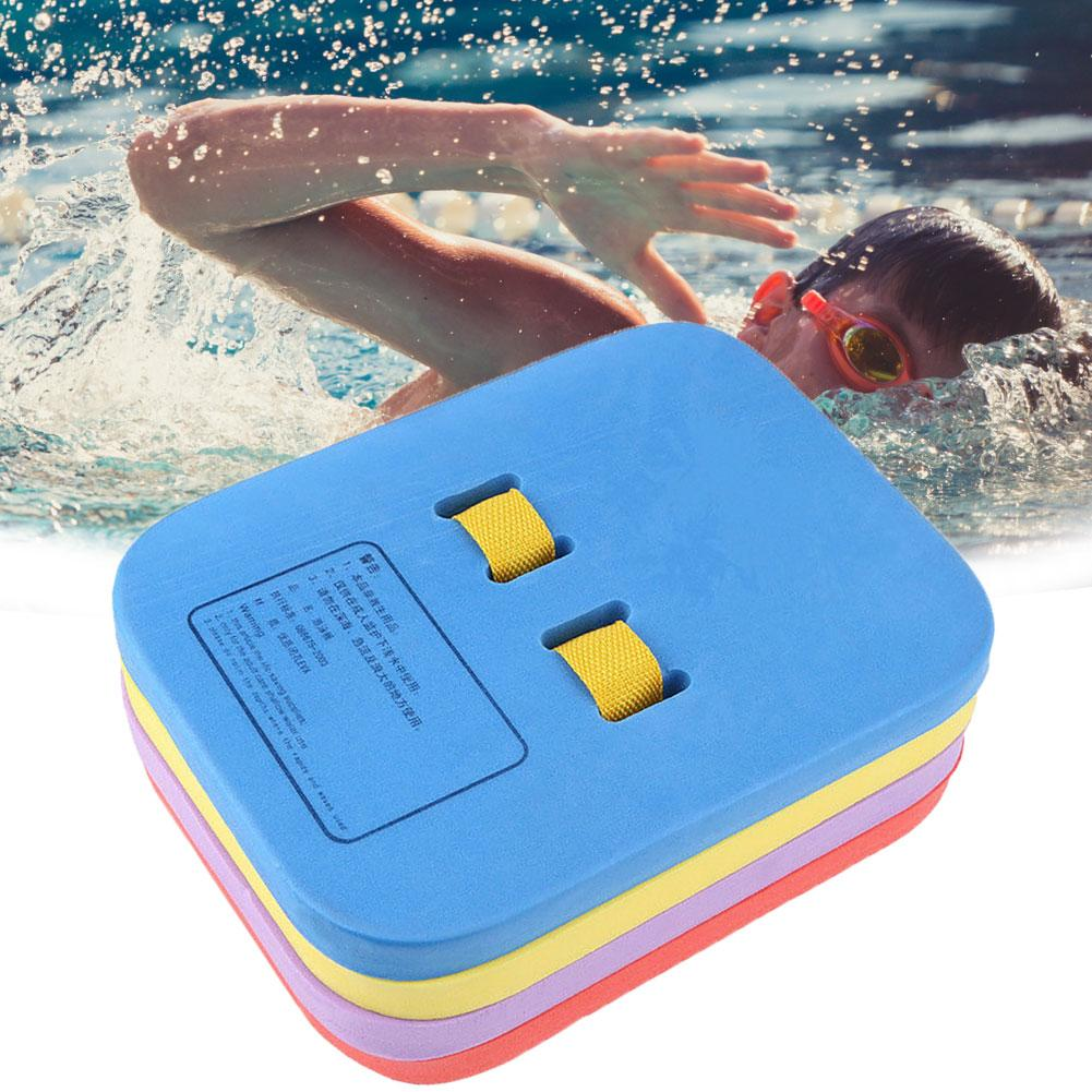 New 4 Layers Adult Kids Swimming Safety Training Belt Back Float EVA Foam Board Swimming Aid Training Float Split Kickboard