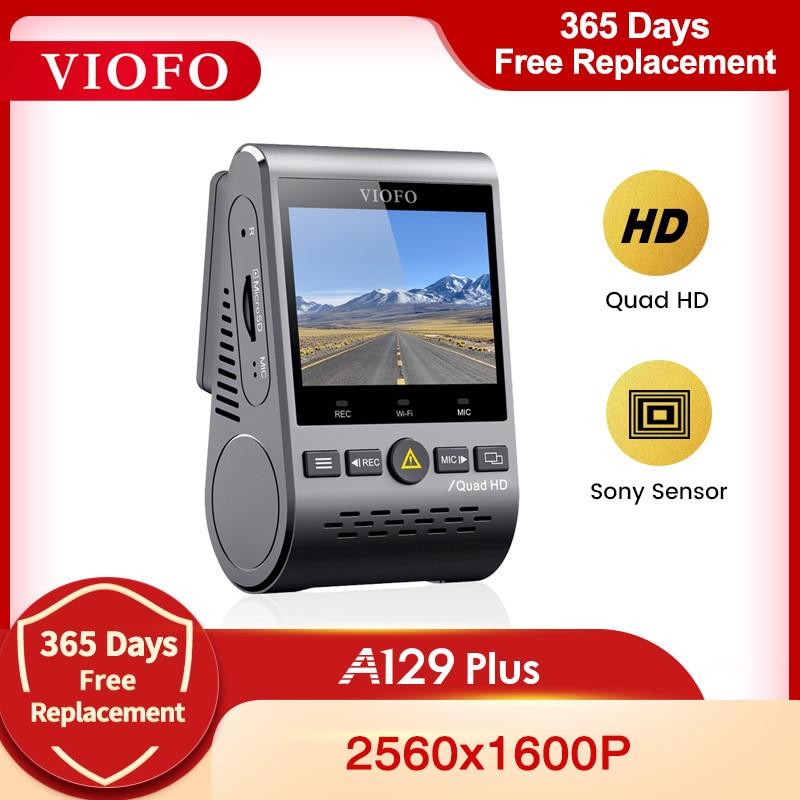 Автомобильный видеорегистратор VIOFO A129 Plus, видеорегистратор для автомобиля с четырехъядерным HD ночным видением, Sony Sensor 2K 60fps DashCam, GPS DVR с режим...