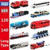Takara Tomy Tomica Grote Voertuig Serie Diecast Miniatuur Crane Truck Bus En Zakelijke Auto Mal Hot Pop Kids Snuisterij Pop