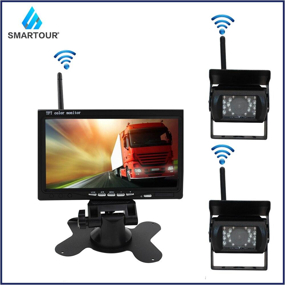 Smartour Wireless Reverse Reversing Camera IR Night Vision 7