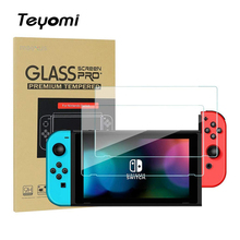Nintend Switch Screen Protector,Premium HD Clear Anti-Scratch Tempered Glass Protector Film For