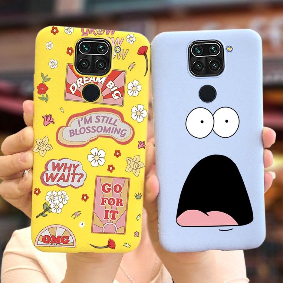 Чехол для Xiaomi Redmi Note 9, мягкий силиконовый чехол для телефона с рисунком для Xiaomi Redmi Note 9, чехол Funda Redmi Note 9 s 9 s, чехлы