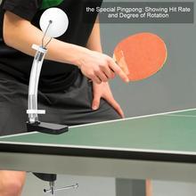 Стол-тип мячом работать прибор настольный теннис служить действие стереотипа практике машина трейнер Весна Новичок Ребенок Взрослый