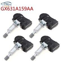 4 unids/lote GX631A159AA GX631 A159A TPMS Sensor de presión de neumáticos 433MHZ para Land Rover Jaguar