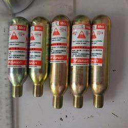 33 45 gramm CO2 Gas Zylinder für Motorrad Airbag Weste 50cc 60cc Gas Flasche CO2 Patrone für Duhan Airbag weste AIR01 02 ersatz