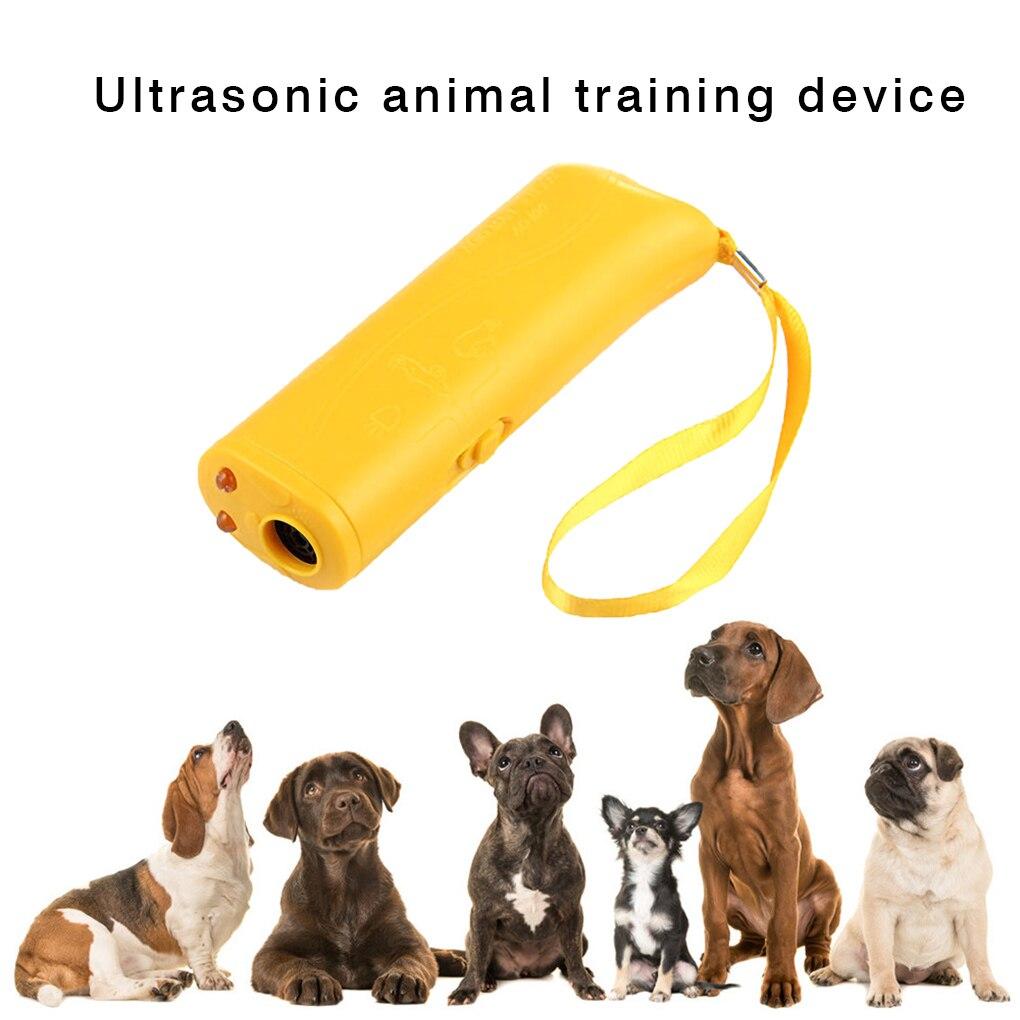 Отпугиватель для питомцев, собак Анти лай остановить лай тренажер открытый светодиодный ультразвуковой 3 в 1 анти лай ультразвуковой| | | АлиЭкспресс - Топ товаров на Али в мае