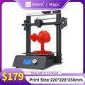 3D принтер JGMAKER Magic с алюминиевой рамой, набор «сделай сам», большой размер печати 220x220x250 мм, модель печати, быстрая доставка, склад в Россию и Е...