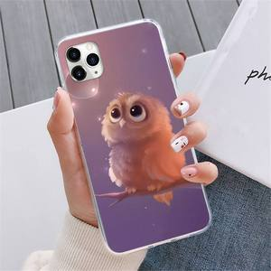 Image 5 - Animal Night Owl Lovely Phone Case For iphone 12 5 5s 5c se 6 6s 7 8 plus x xs xr 11 pro max mini