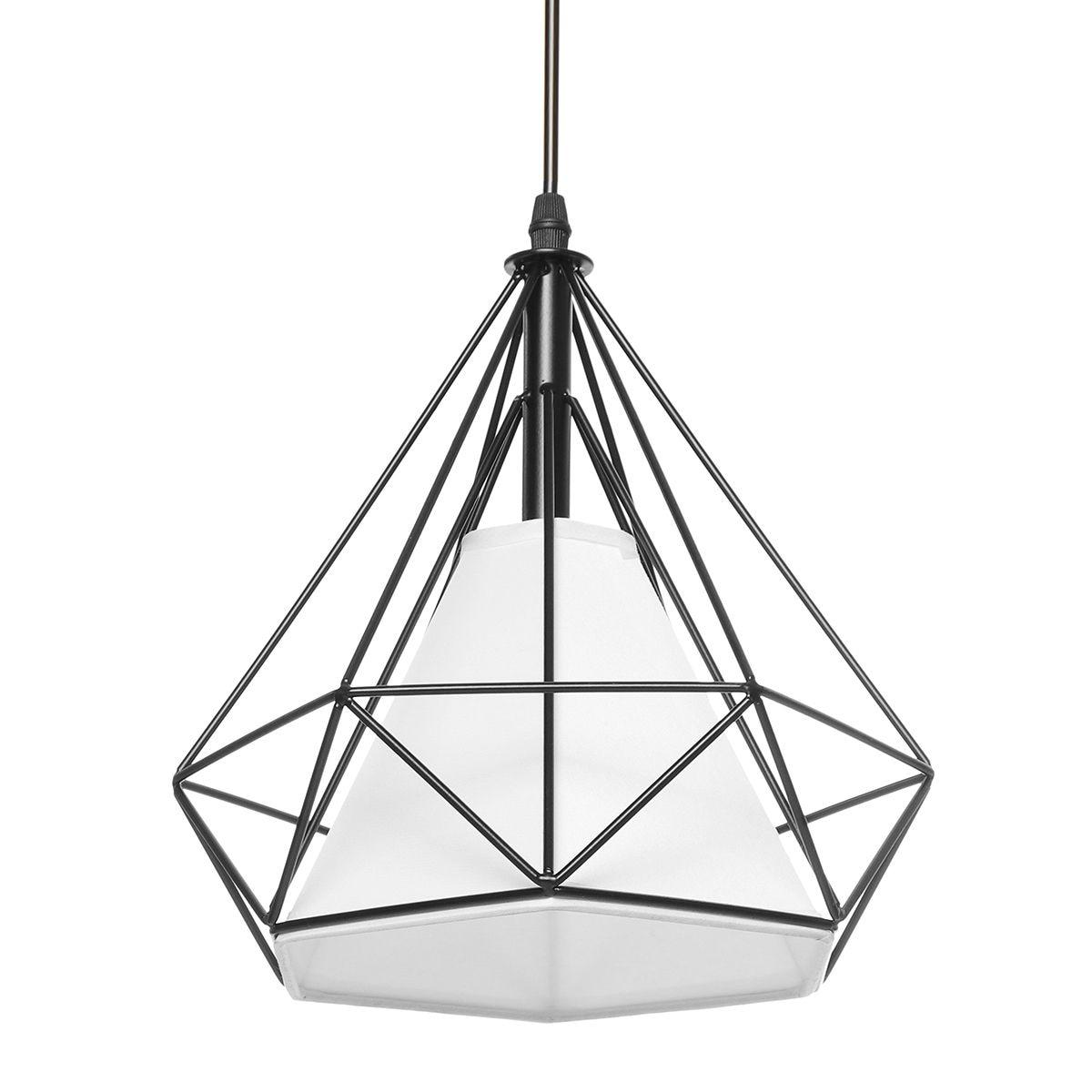 3 cabeças e27 moderna barra de luz pingente restaurante pendurado luminária decoração para casa chá padaria iluminação interior quadrado redondo - 6