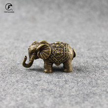 Ornaments Desk-Decoration Home-Decor-Accessories Animal-Figurines Brass Elephant Copper